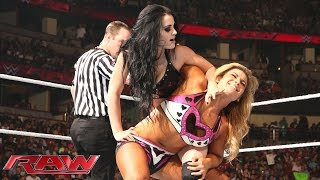Natalya vs. Paige: Raw, Aug. 25, 2014