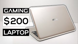 Gaming On A $200 Laptop 2017! - Can It Be Done?