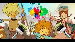 Maysa ve Bulut izle - Çizgi film karakterleriyle Renkleri öğreniyorum
