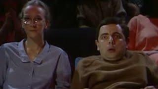 Mr. Bean - Watching a horror movie