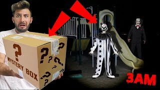 (GONE WRONG) DONT OPEN A MYSTERY BOX FROM THE DARK WEB AT 3AM | THEY TOOK MY FRIEND!