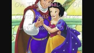 Disney Princesses -12 Days Of Christmas-