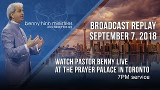 Benny Hinn LIVE at The Palace Church in Toronto, Canada