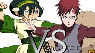 RESPONSE: Gaara VS Toph | DEATH BATTLE!