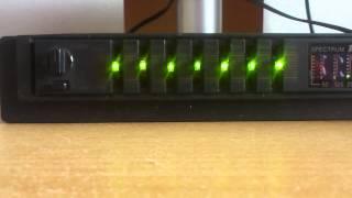 Equalizer zprovoznění AudioTon 100Wx2