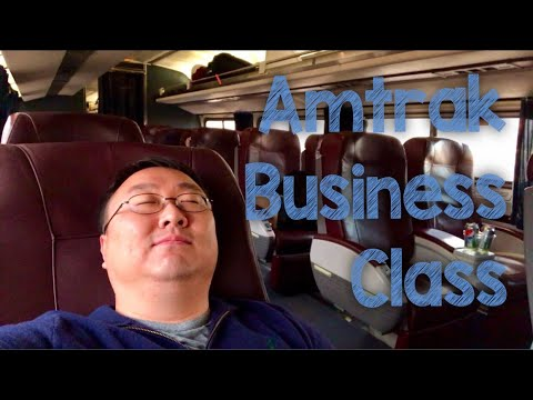 Business Class on Amtrak review