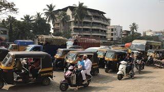 Vasai  fatherwadi traffic jam
