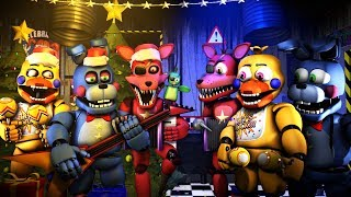 [FNAF/SFM] THE ROCKSTAR ANIMATRONIC'S XMAS VOICES VERSUS NORMAL VOICES