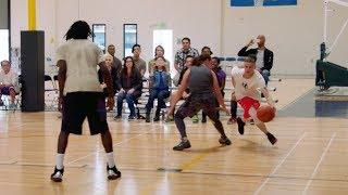 Professor Hoops w/Streetball Legends in LA