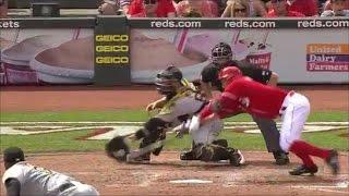 MLB Squeeze Bunt Fails
