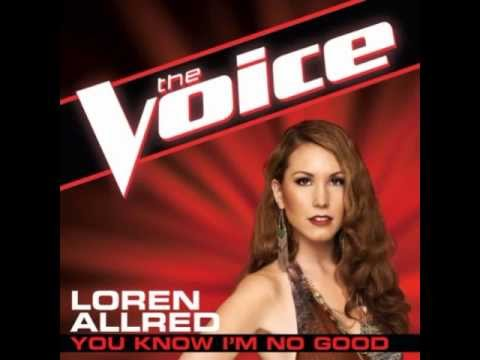 "Loren Allred: ""You Know I'm No Good"" - The Voice (Studio Version)"