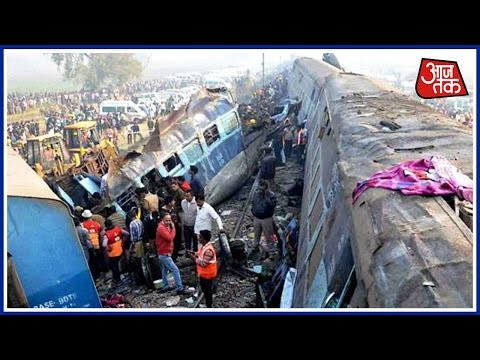 45 Dead After Indore-Patna Express Derails In Train Accident Near Kanpur Today