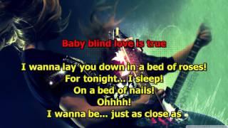 Bed Of Roses - (HD Karaoke) Bon Jovi