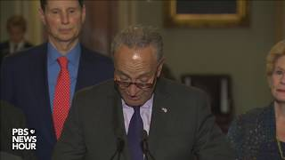 WATCH LIVE: Senate Democratic leaders speak after health care vote