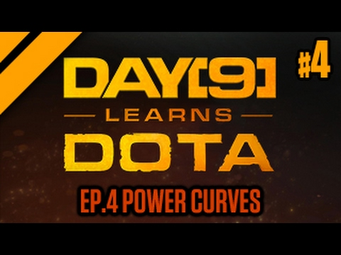 Day[9] Learns Dota - 4. Power Curves (Lesson w/ coach Purge)