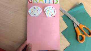Mekaniskt kort - Grattis