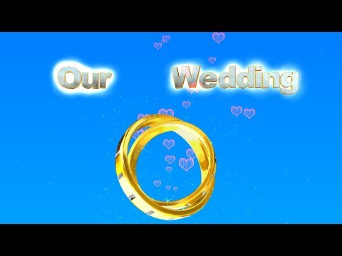 Background Video Footage Our Wedding💕. Video animation HD