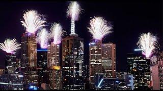 New Years Eve Fireworks 2017 Melbourne Australia
