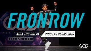 Kida The Great | FrontRow | World of Dance Las Vegas 2016 | #WODVEGAS16