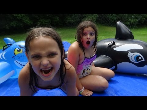 Giant Slip N Slide Party