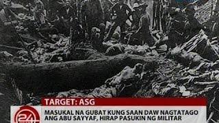 24 Oras: Masukal na gubat kung saan daw nagtatago ang Abu Sayyaf, hirap pasukin ng militar