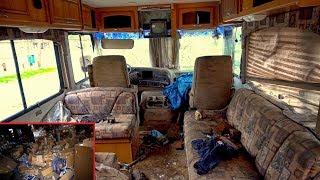 Strange Owner Abandoned Stuff inside RV, Boat, Barber Shop & 1990