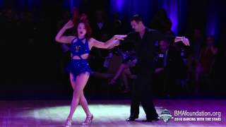 Tony Dovolani & Sharna Burgess Dance 2 2016 BMA Foundation Dancing With The Stars