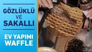 Gözlüklü ve Sakallı ile Öğrenci Evi: Waffle Keyfi