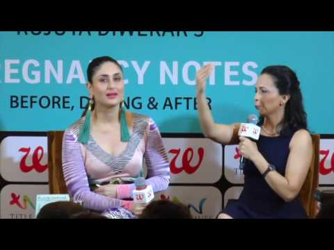Xxx Mp4 UNCUT Kareena Kapoor Khan At The Book Launch Of Rujuta Diwekar S Pregnancy Notes 3gp Sex
