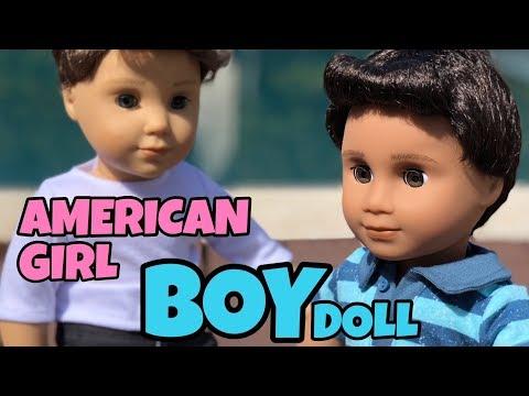 NEW AMERICAN GIRL BOY DOLL