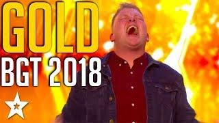 TOP 5 GOLDEN BUZZERS on Britain's Got Talent 2018 | Got Talent Global