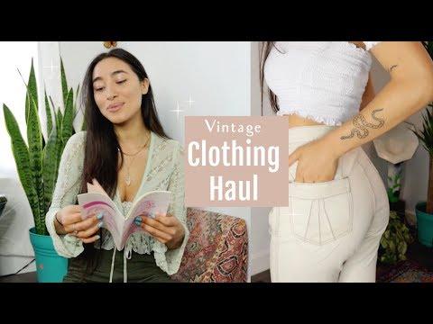 Summer Clothing Haul 2018 | Vintage finds, Shoes & Art