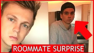 FAMOUS NEW ROOMMATE SURPRISE