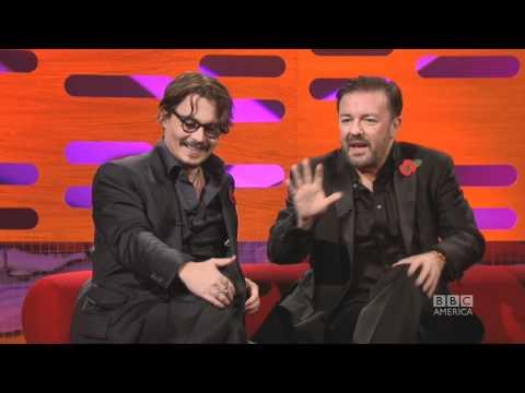JOHNNY DEPP Stuffed Piranhas & Vampire Bats The Graham Norton Show