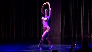 Belly Dancer LEILA SAS - at the Baobab Theatre 2017