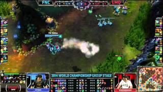 FNC vs LMQ (25.09.2014) | LoL World Championship 2014