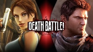 Lara Croft VS Nathan Drake | DEATH BATTLE! (Tomb Raider VS Uncharted)
