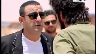 السقا ومنذر رياحنه  أقوي مشهد مع تحياتي  حاتم التاجي