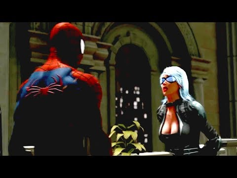 Download The Amazing Spider Man vs Black Cat fight & love scene in the museum free