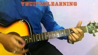 Har Ghadi Badal Rahi Hai Guitar Chords Tutorial  - Kal Ho Na Ho VERY EASY GuitarLesson