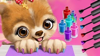Fun Animal Care Kids Games - Christmas Animals Hair Salon Makeover App for Toddlers