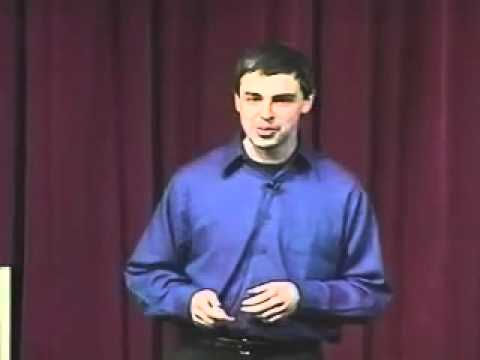 Larry Page of Google Gives Tips