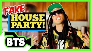 Having a Fake House Party! (BTS)