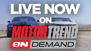 TEASER: 2017 Chevrolet Camaro ZL1 vs. 2017 Ford Shelby Mustang GT350R - Head 2 Head Ep. 90