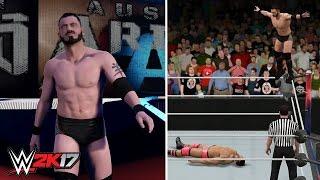 WWE 2K17 Future Stars DLC: Austin Aries Entrance, Signatures & Finishers! | #WWE2K17DLC
