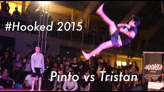 Amazing Tricking Battle - Jacob Pinto vs Tristan Besombes - #hooked2015