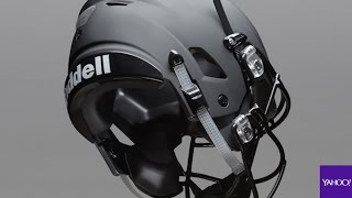 The football helmet of the future is here