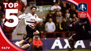 The best FA Cup Semi-Finals of all time | Top Five