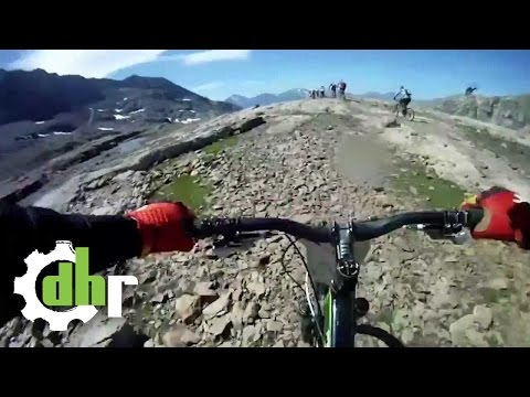 How to overtake 130 riders a the Mégavalanche - by downhill-rangers.com