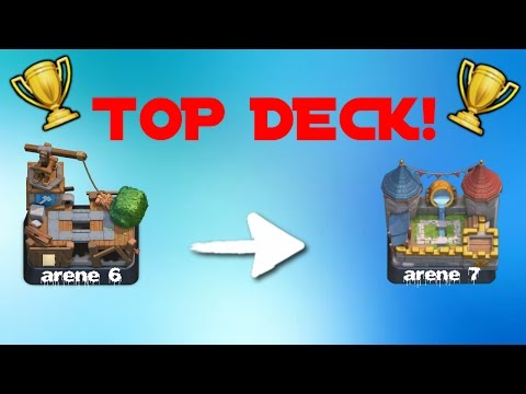 Le meilleur deck pour monter ar ne 7 clash royal fr for Clash royale meilleur deck arene 7